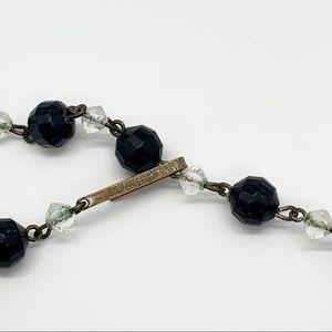 Vintage Jewelry - W. Germany Vintage 4 strand Choker style Necklace